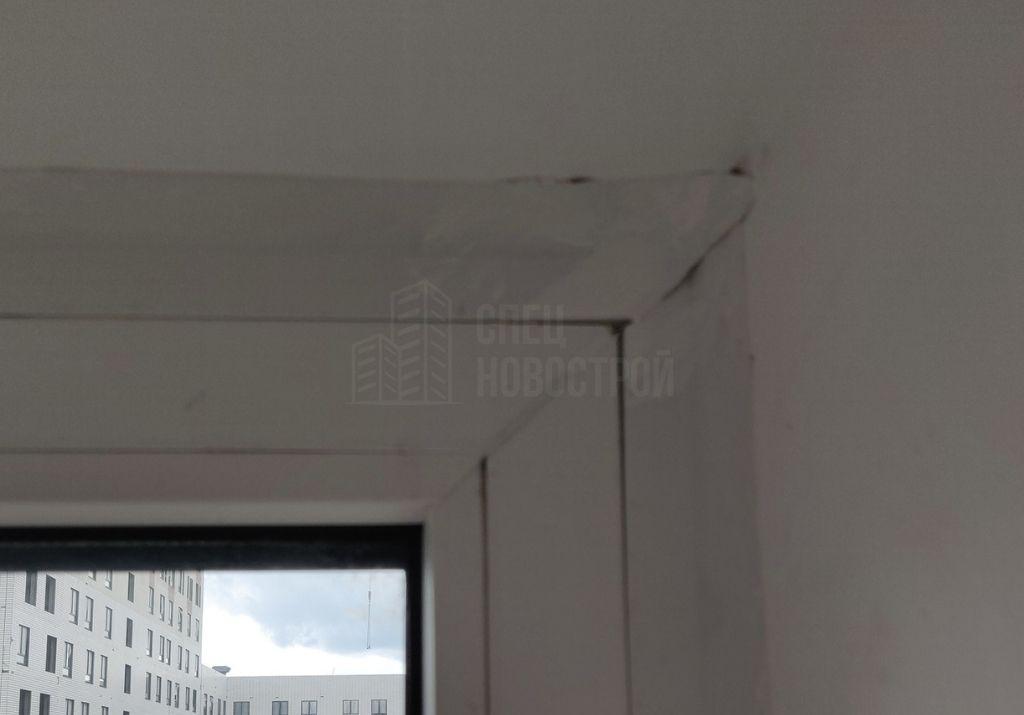 некачественный монтаж нащельников по периметру балконного блока