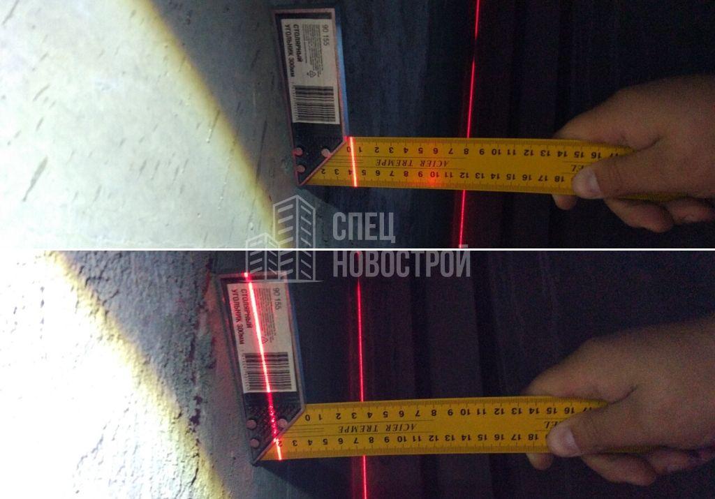 местные неровности по стене более 20 мм на метр
