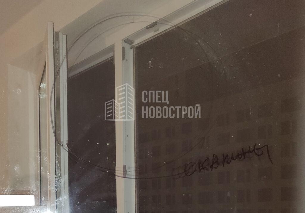 окалины на стеклопакете