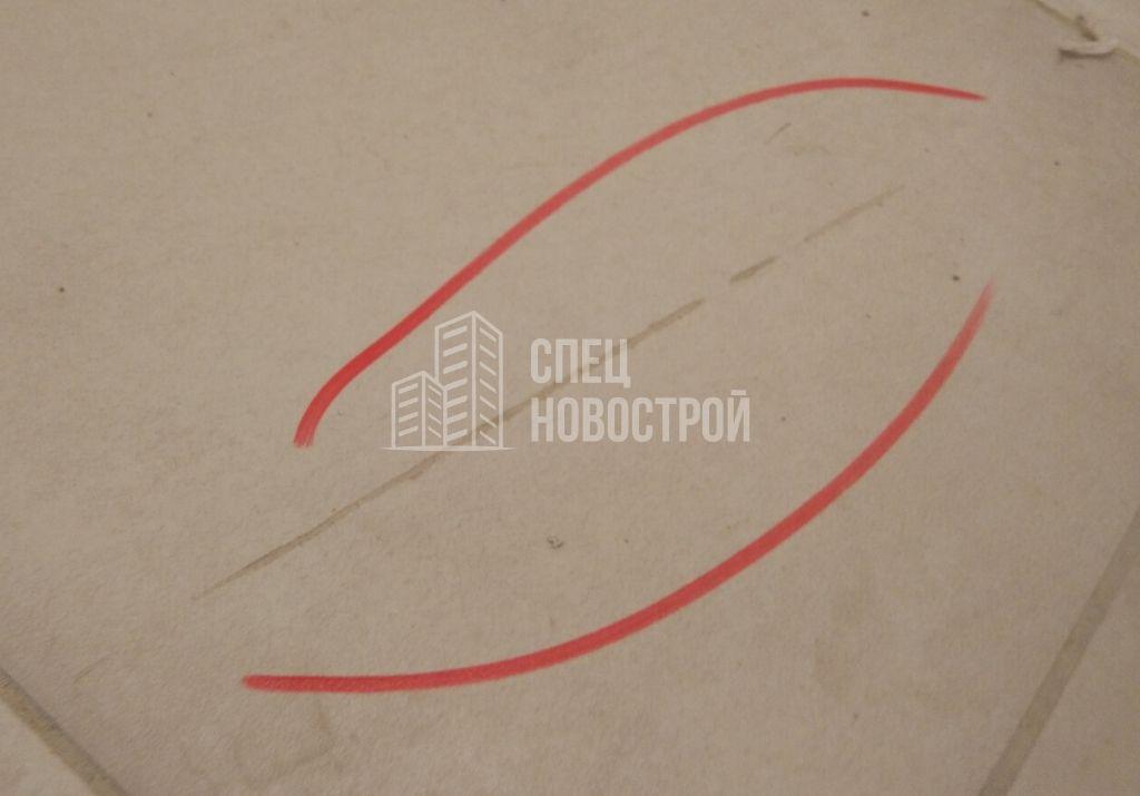 дефекты (прорезы) на напольной плитке