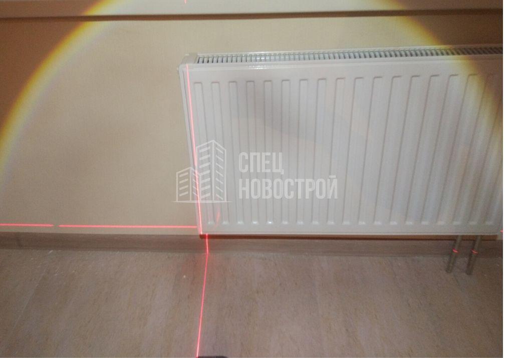 радиаторы установлены не по уровню