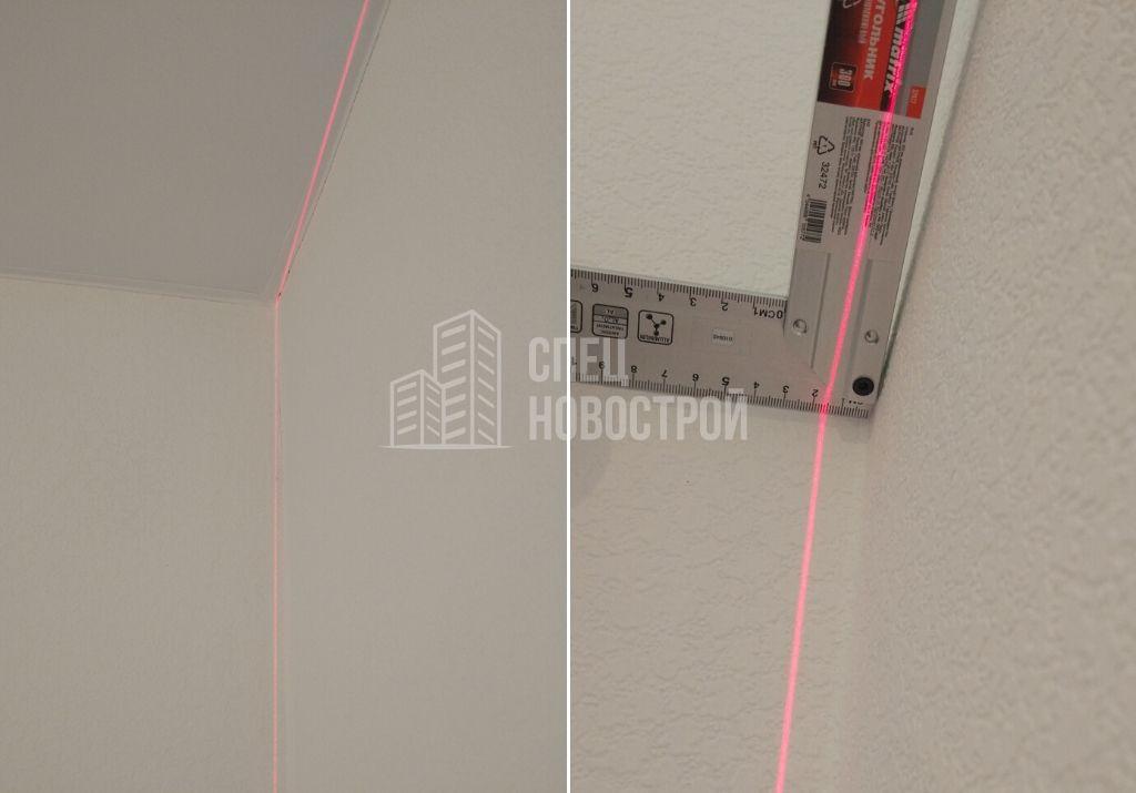 отклонение стены от вертикали 15 мм