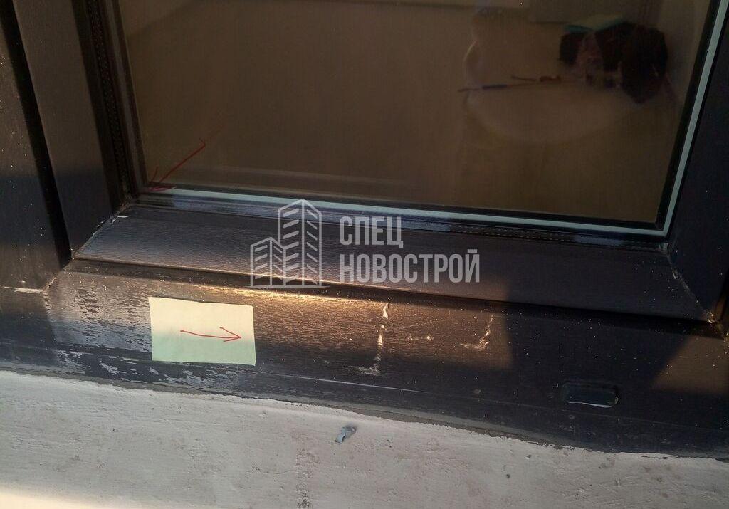 царапины на профиле витражного остекления балкона