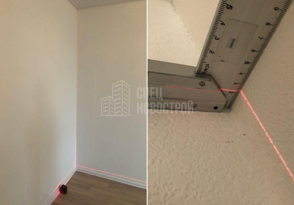 отклонение стены от вертикали 22 мм