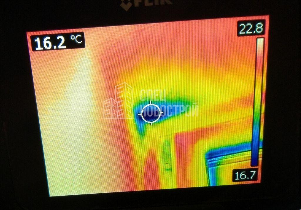 инфильтрация воздуха в монтажном шве оконного блока