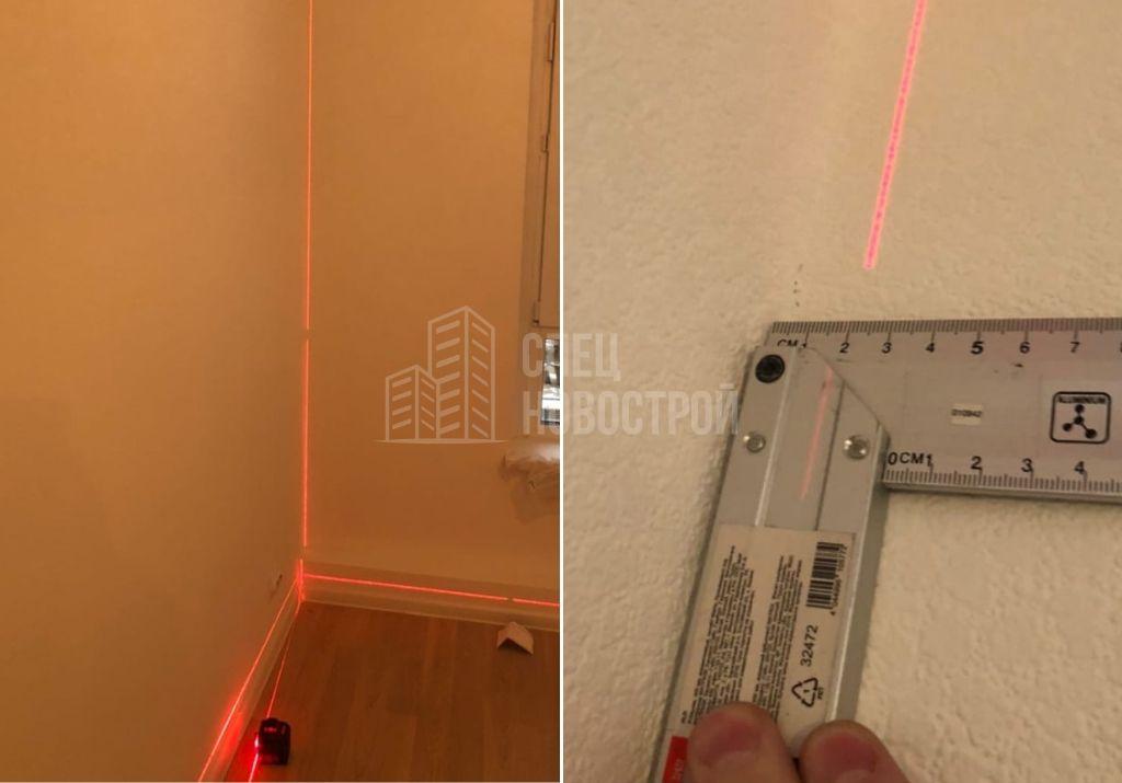 отклонение стены от вертикали 19 мм