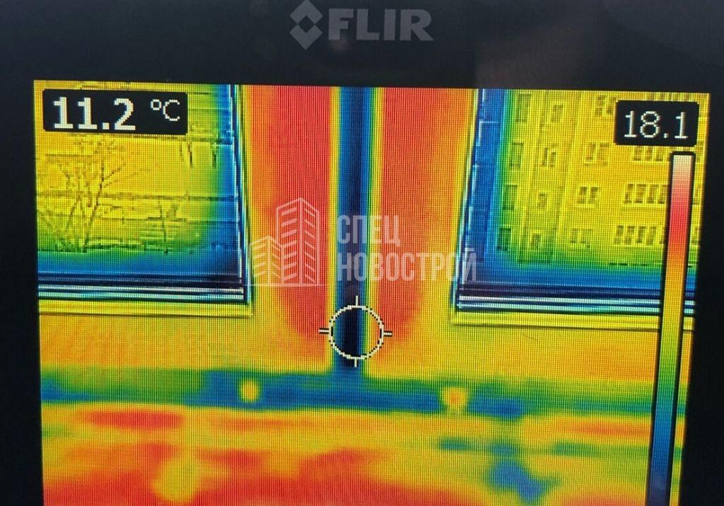 инфильтрация наружного воздуха из-под уплотнителей створок оконных блоков