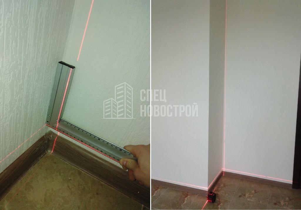 отклонение вент. короба от вертикали на 30 мм
