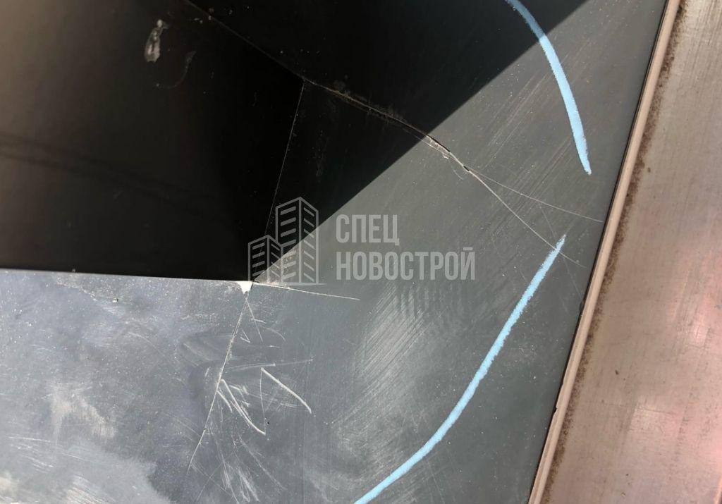 царапины на алюминиевом профиле оконного блока