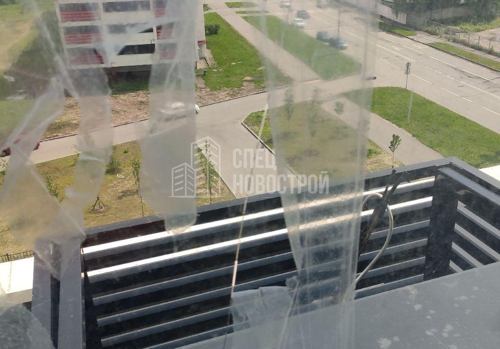 трещина на стеклопакете