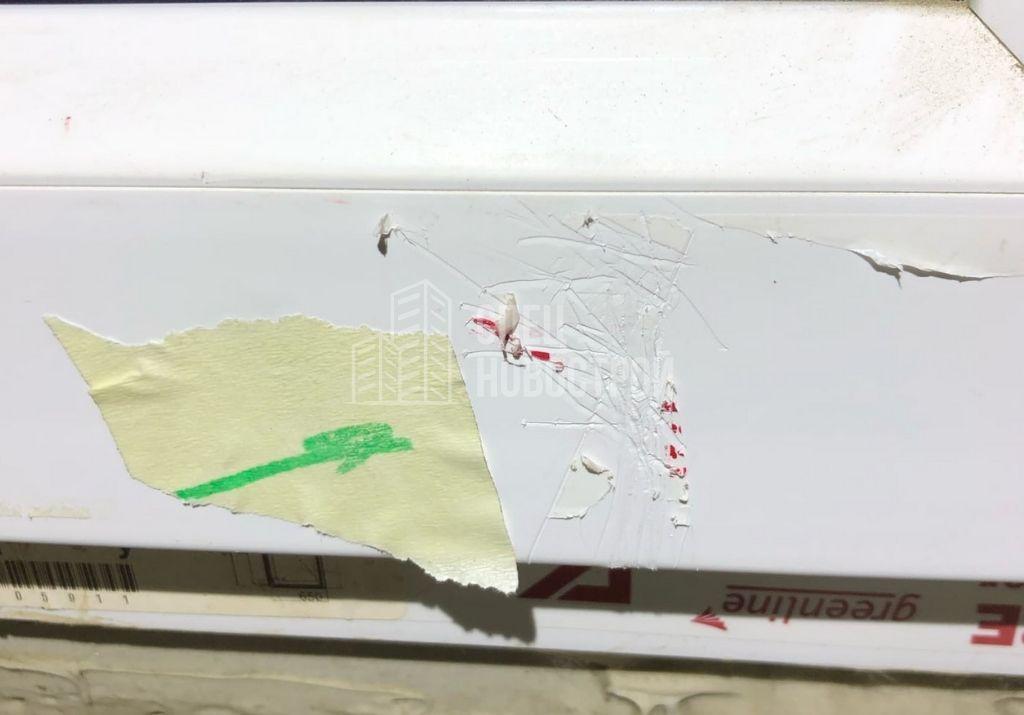 царапины на ПВХ профилях створок и балконных дверей
