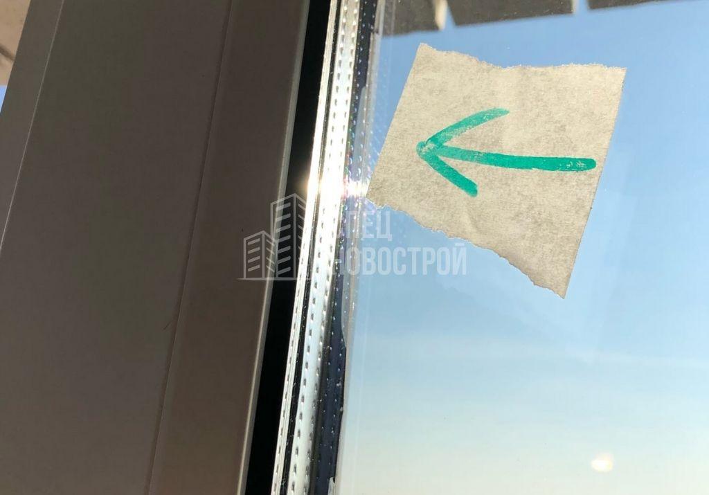 частично замяты уплотнители стеклопакетов