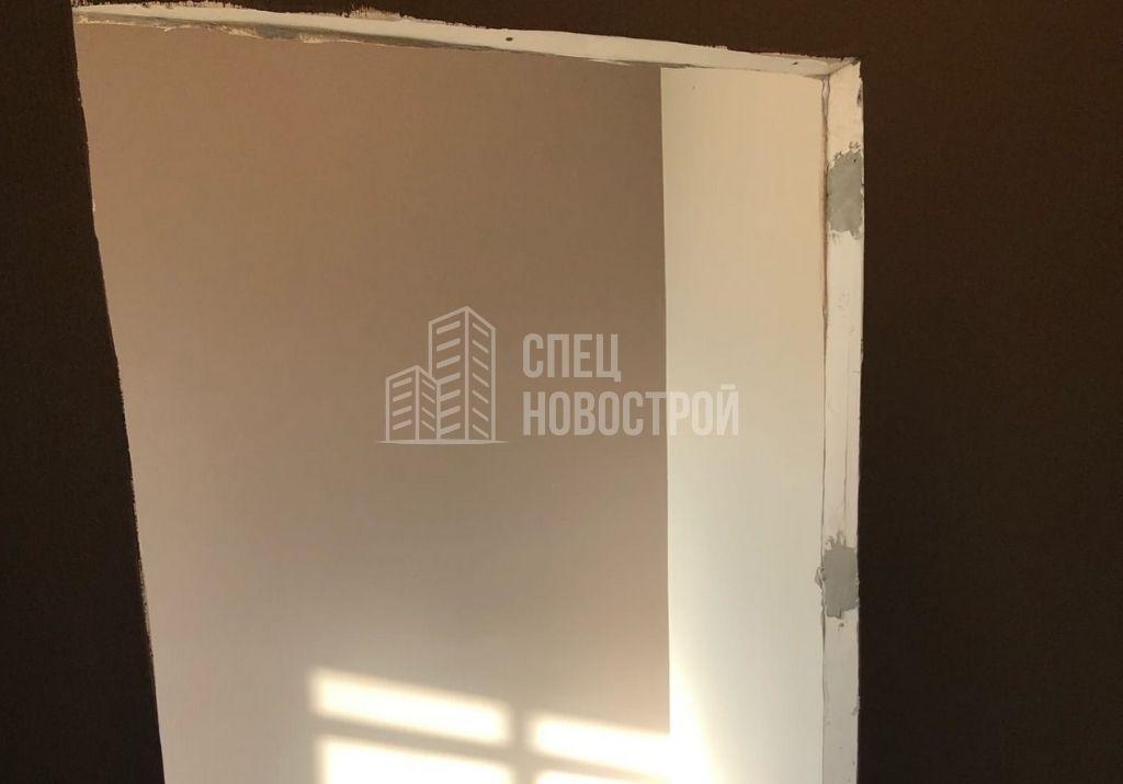 не установлены межкомнатные двери в помещениях всей квартиры