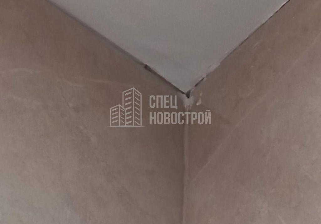вздутие шпаклевки на потолке