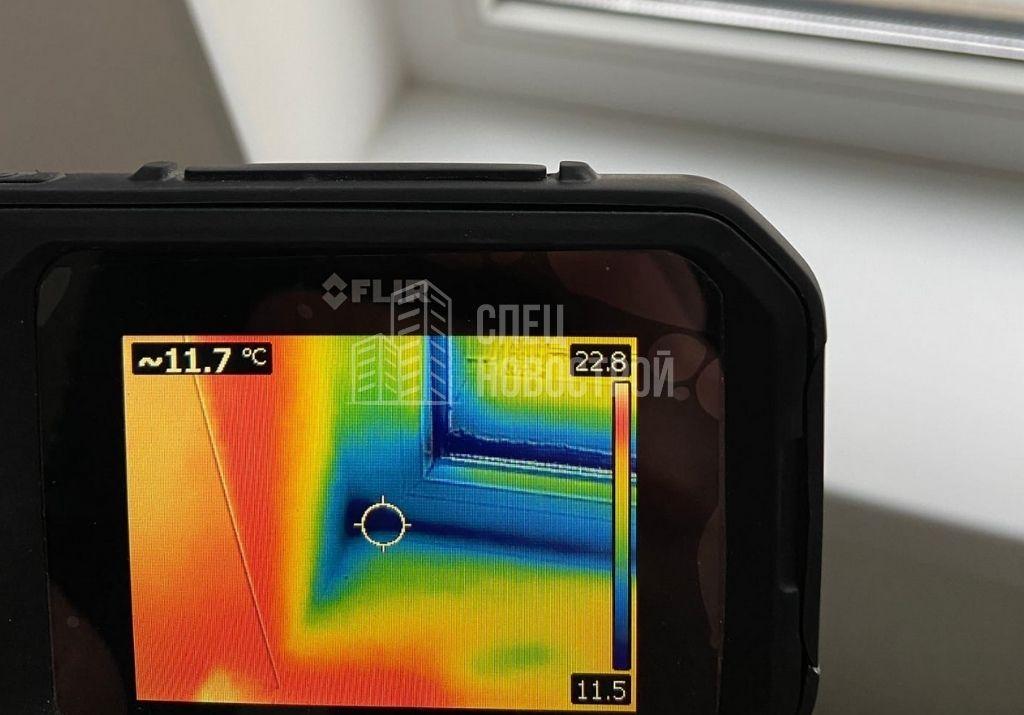 инфильтрация наружного воздуха на примыкании рамы оконного блока к подоконнику