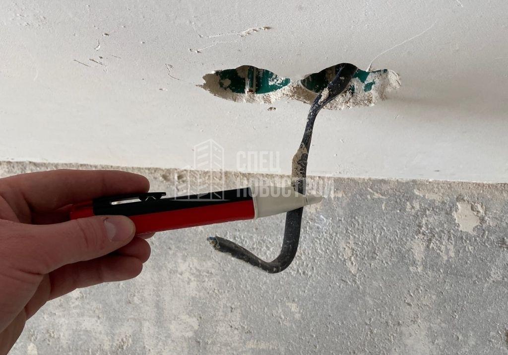 отсутствует напряжение на выводах электричества в розетках