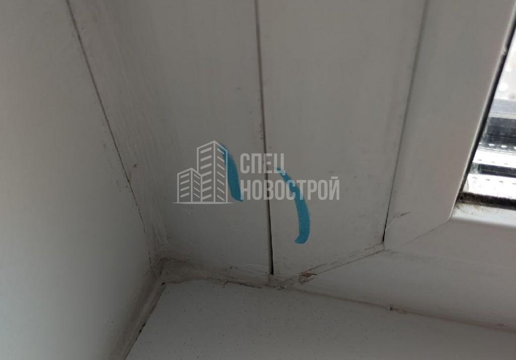 зазоры на примыкании нащельников к профилю оконного блока