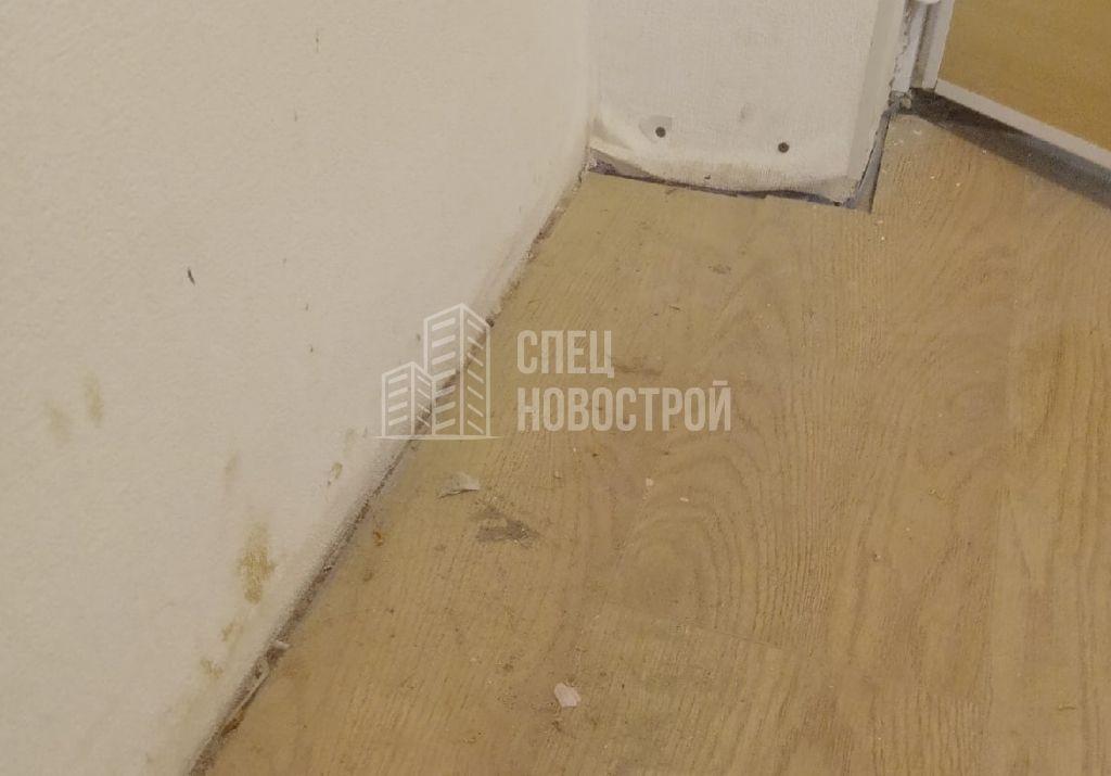 отсутствуют плинтуса в коридоре