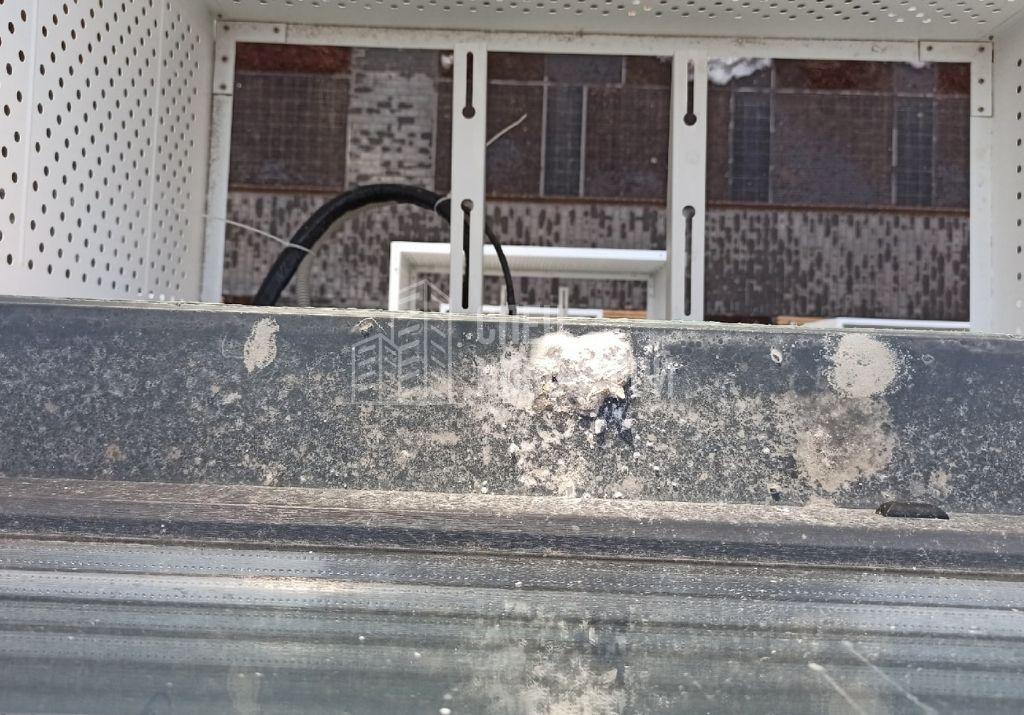 загрязнения на водоотливе строительным раствором