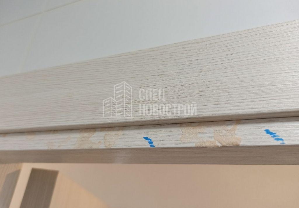 остатки монтажной пены на дверном коробе